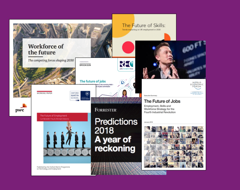 Future of Work/Future of Recruitment – Top 10 Reports